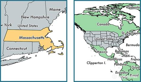 what is the state of massachusetts where is massachusetts state where is massachusetts located in the world