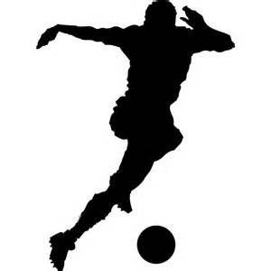 soccer player silhouette vector download at vectorportal