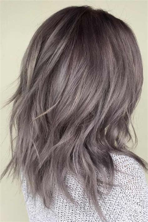 chic haircuts for gray hair 507 best medium length hair images on pinterest