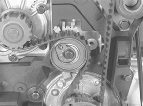 changing  timing belttensionerwater pump  idler      turbo volvo