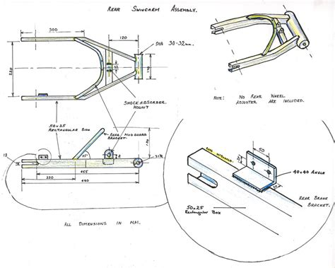 swing bike plans sidecar frame diagrams pictures inspirational pictures