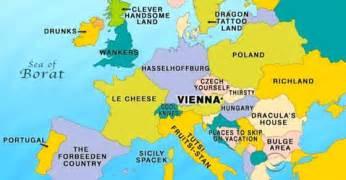 Vienna Map Europe by Craig Ferguson News