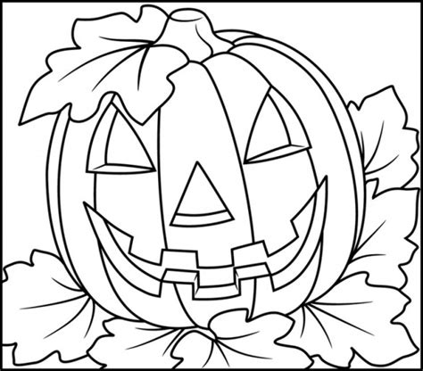 full size printable halloween coloring pages zucca di halloween da colorare