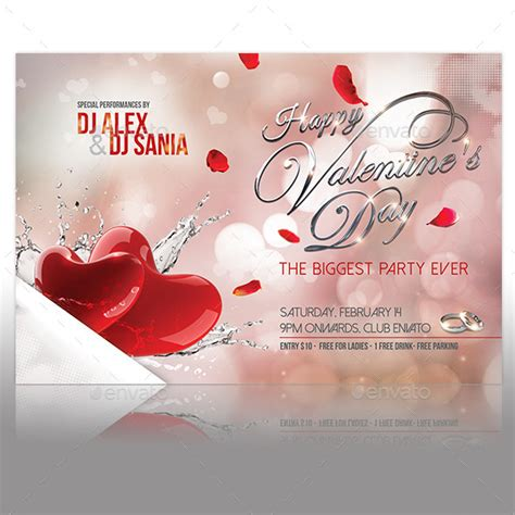 17 best valentines day flyers cards templates 2017