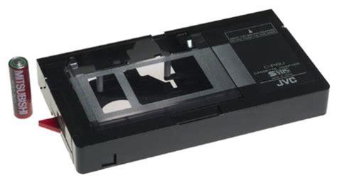 adattatore cassette vhs vhs c to vhs adapter cassette converter jvc ebay