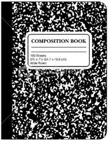 composition book template 5060 history theories of composition responses to