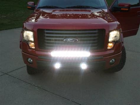 light bar on top of truck lazer star lights 10 watt led light bar 101603 enterprise