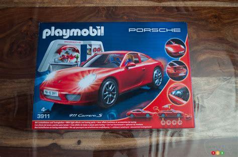 playmobil porsche  carrera  review car news auto