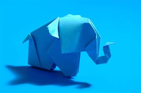 cara membuat origami gajah tutorial cara membuat origami gajah full satu badan