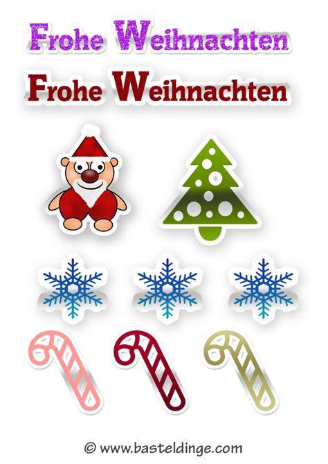 Aufkleber Nach Vorlage by Weihnachtliche Sticker Und Aufkleber Vorlagen Basteldinge