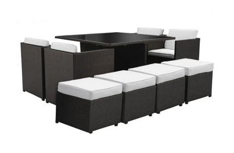 tavoli contenitori arredamento esterno divani in rattan set tavolo pranzo