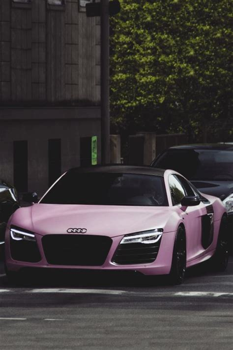 matte pink car matte pink audi r8 audi pinterest cars dream cars
