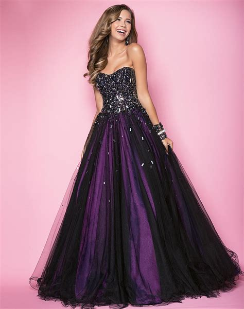 purple dress 25 astonishing ideas of black wedding dresses the best