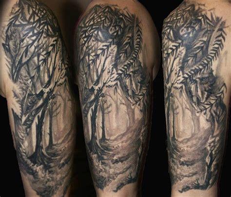 nature quarter sleeve tattoo 35 amazing nature tattoos