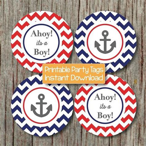 Anchor Decorations For Baby Shower Nautical Baby Shower Decorations By Bumpandbeyonddesigns