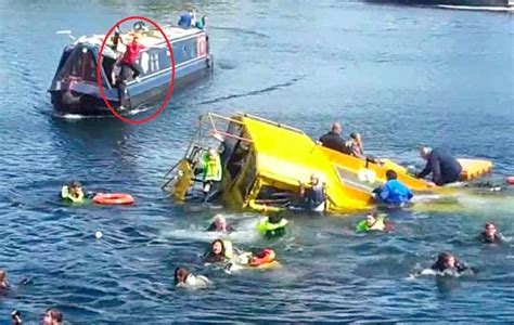 duck boat sinking video coastguard approval questioned after duck tours sinking