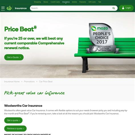 Woolworths Gift Card Promo Code - quot up to 10 off quot woolworths car insurance 100 woolworths gift card ozbargain