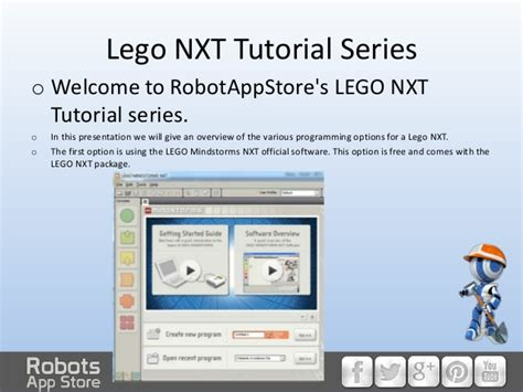 tutorial lego mindstorms nxt programming how to program a lego nxt pt 1 an introduction to lego