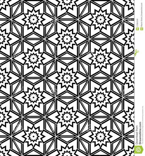 libro print pattern geometric black and white seamless pattern sacred geometry stock vector image 57984349