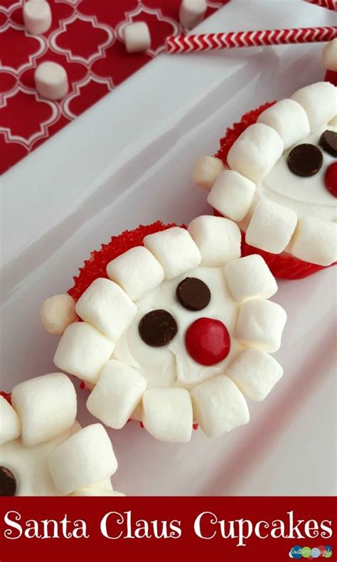 santa claus cupcakes recipe 12daysof