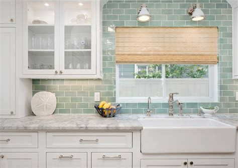 green tile backsplash green subway tile backsplash green light green subway