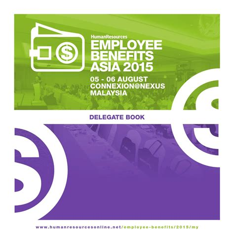 Dual Mba Cfp Program by Employee Benefits Asia Malaysia 2015 Delegate Book By