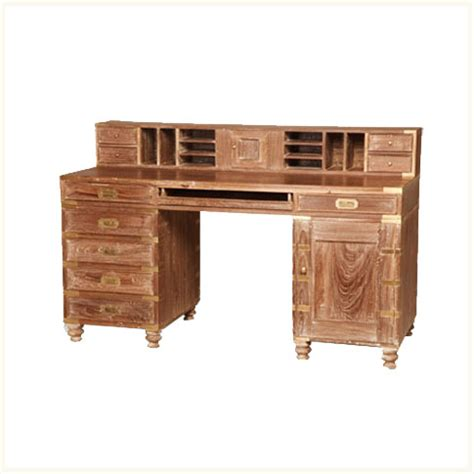 Northbrook Caign Desk British Colonial Caign Colonial Desk