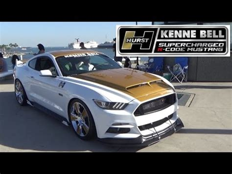 Bell Ford by Hurst Kenne Bell Supercharged R Code Mustang At Ponies At