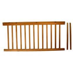 premade banister shop top choice instarail redwood deck railing kit