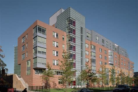northeastern university housing northeastern university west cus residence hall building e turner construction