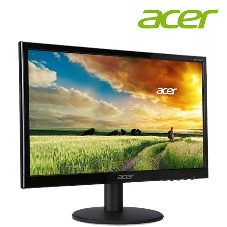 Monitor Acer Led 18 5 acer eb192q 18 5 quot led monitor