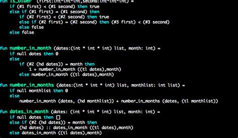 Programming Languages coursera programming languages airskull