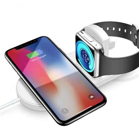 raxfly 10w 7 5w foldable wireless charger charging dock for iphone xs max xr apple 2 3