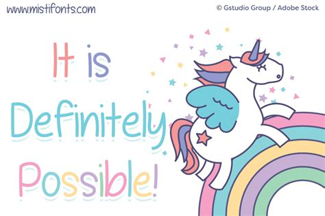 Are Definitely by It Is Definitely Possible Font Dafont
