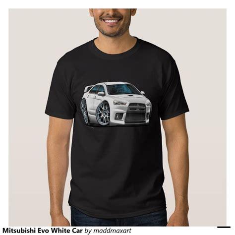 Kaos Murah Air Flight Tshirt Olahragabaju mitsubishi evo white car t shirt shirts cars and evo