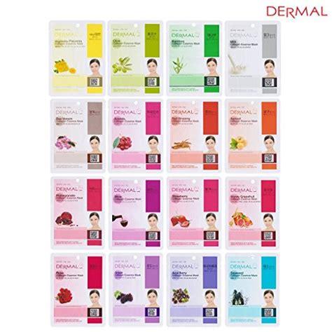 Masker Dermal dermal collagen essence mask set deal coupon world