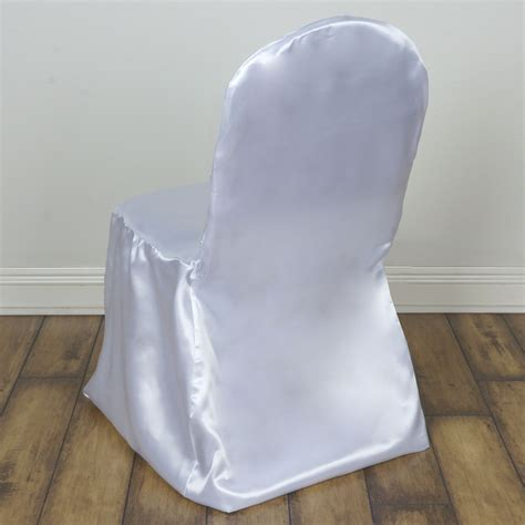 satin banquet chair covers wedding reception