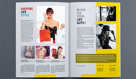 10 Fabulous Clothing Magazine Templates To Boost Your Business Create A Magazine Article Template