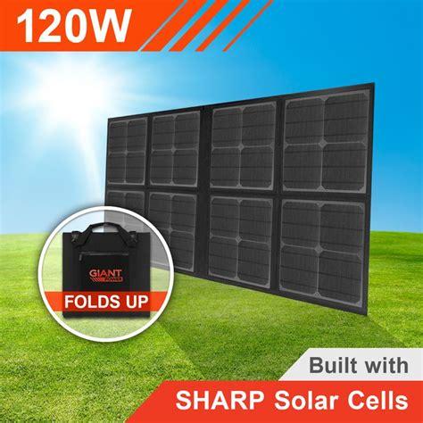 10 Panel Mat - 125w 12v foldable solar mat 10 panel wheels