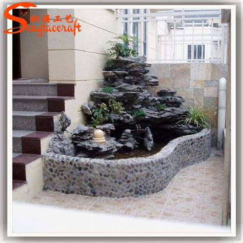 home waterfall fountains decorative glass indoor fountain