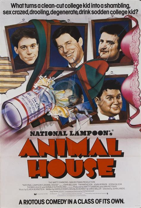 where was animal house filmed a lifetime of film ashe s top ten from 1978 cinefessions