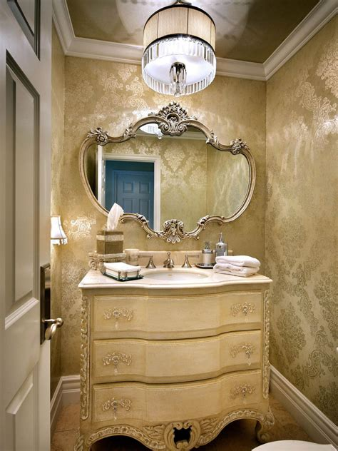 Powder Room Chandelier by Photo Page Hgtv