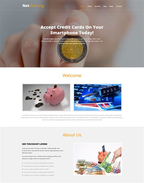 bootstrap templates for banking bootstrap website templates free download 2017