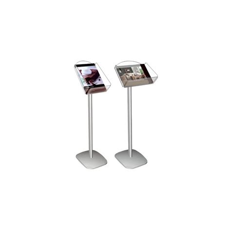 point  purchase display stand system menu holders