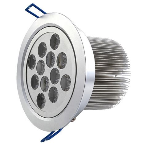 Lu Downlight Led 12 Watt 12 watt bright led recessed downlight ac 100 240