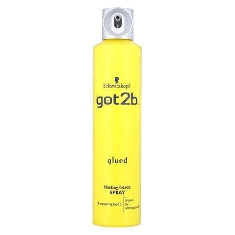 got2b glued blasting freeze spray 300ml ebay