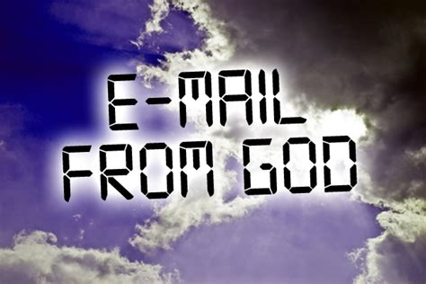 Email From God e mail from god smiles for all prayer stories