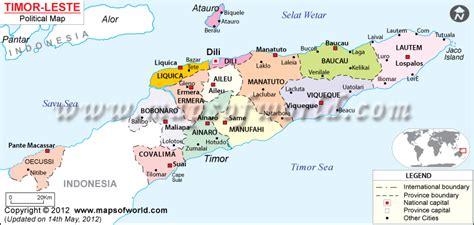 timor leste timor leste location  world map