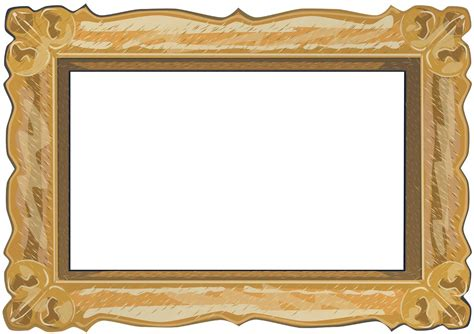 frame border template frame templates clipart best