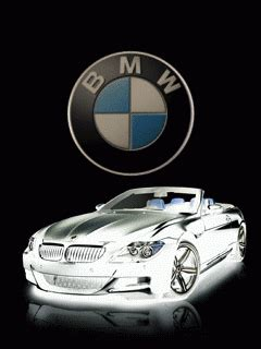 animated bmw logo mobile phone wallpapers 240x320 hd